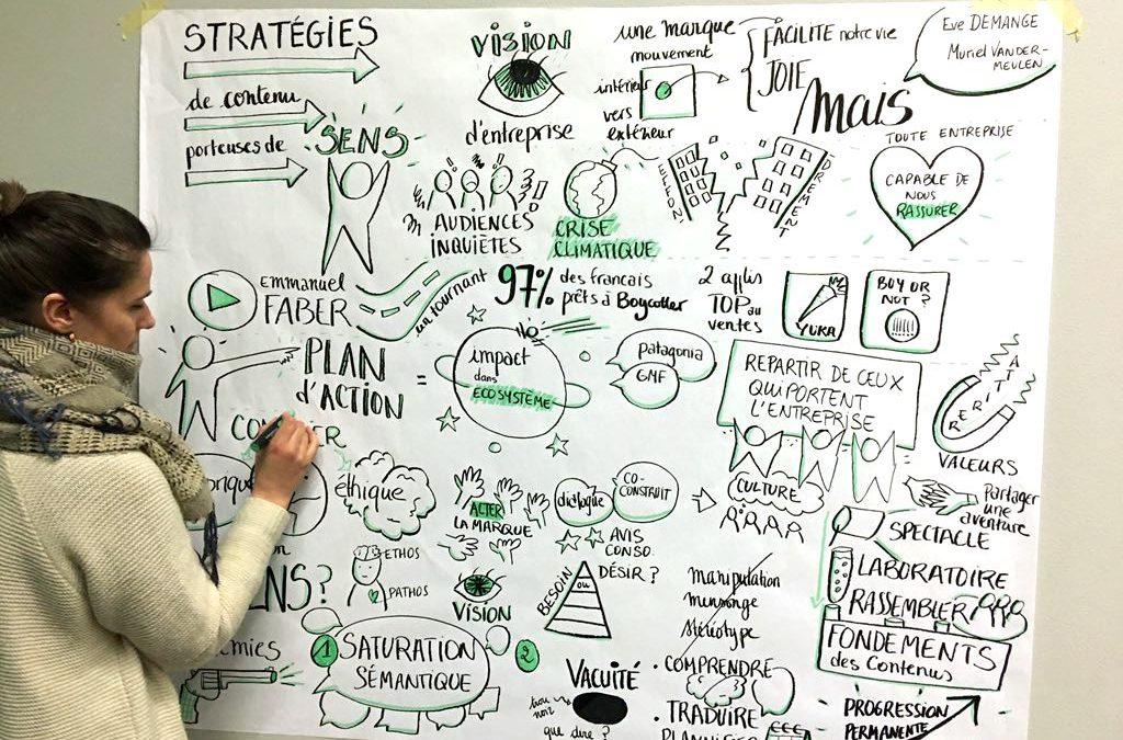 Scribing de la conférence Kontnü
